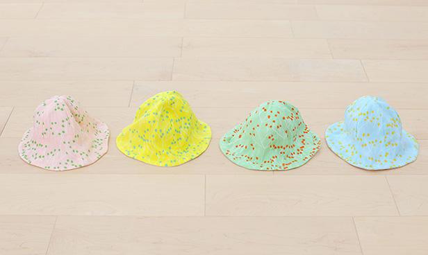 ベビー用帽子(チューリップハット)の手作りキット一覧