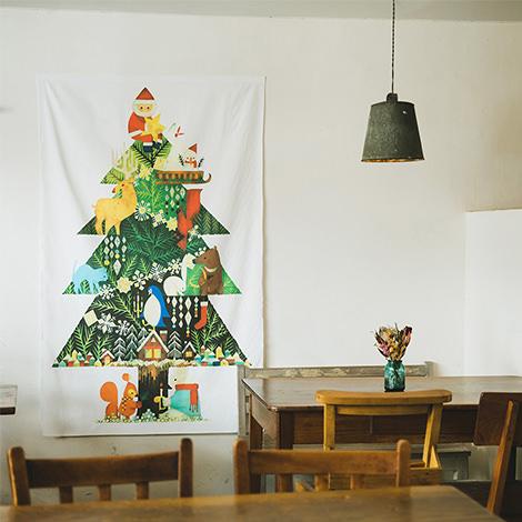 クリスマスツリータペストリー(大):福田利之