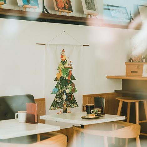 クリスマスツリータペストリー(小):福田利之