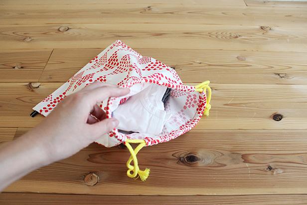 お着換え袋の作り方