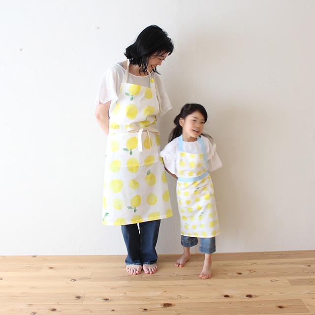 母の日に贈りたい、おそろいの手作りエプロン(作り方) | nunocoto