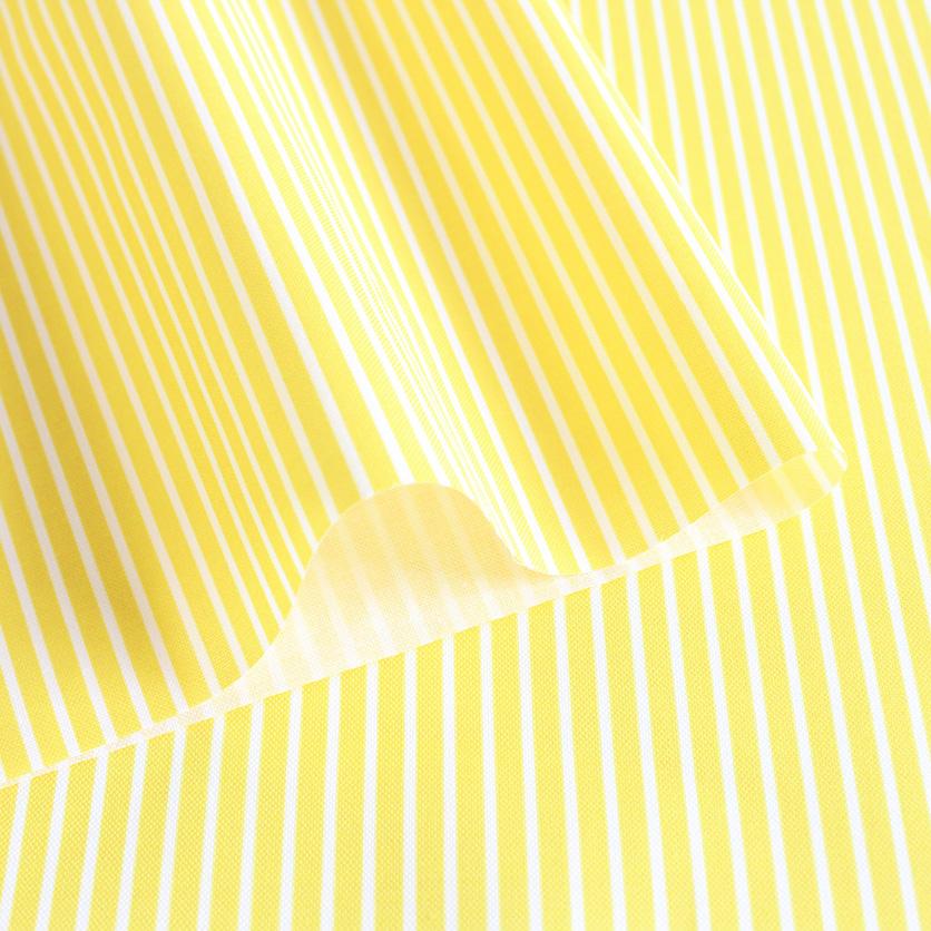 nunocoto fabric:細ストライプ(イエロー)