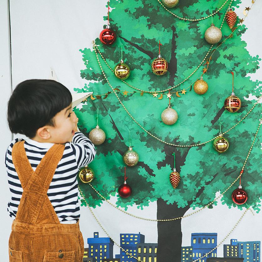 クリスマスツリータペストリー